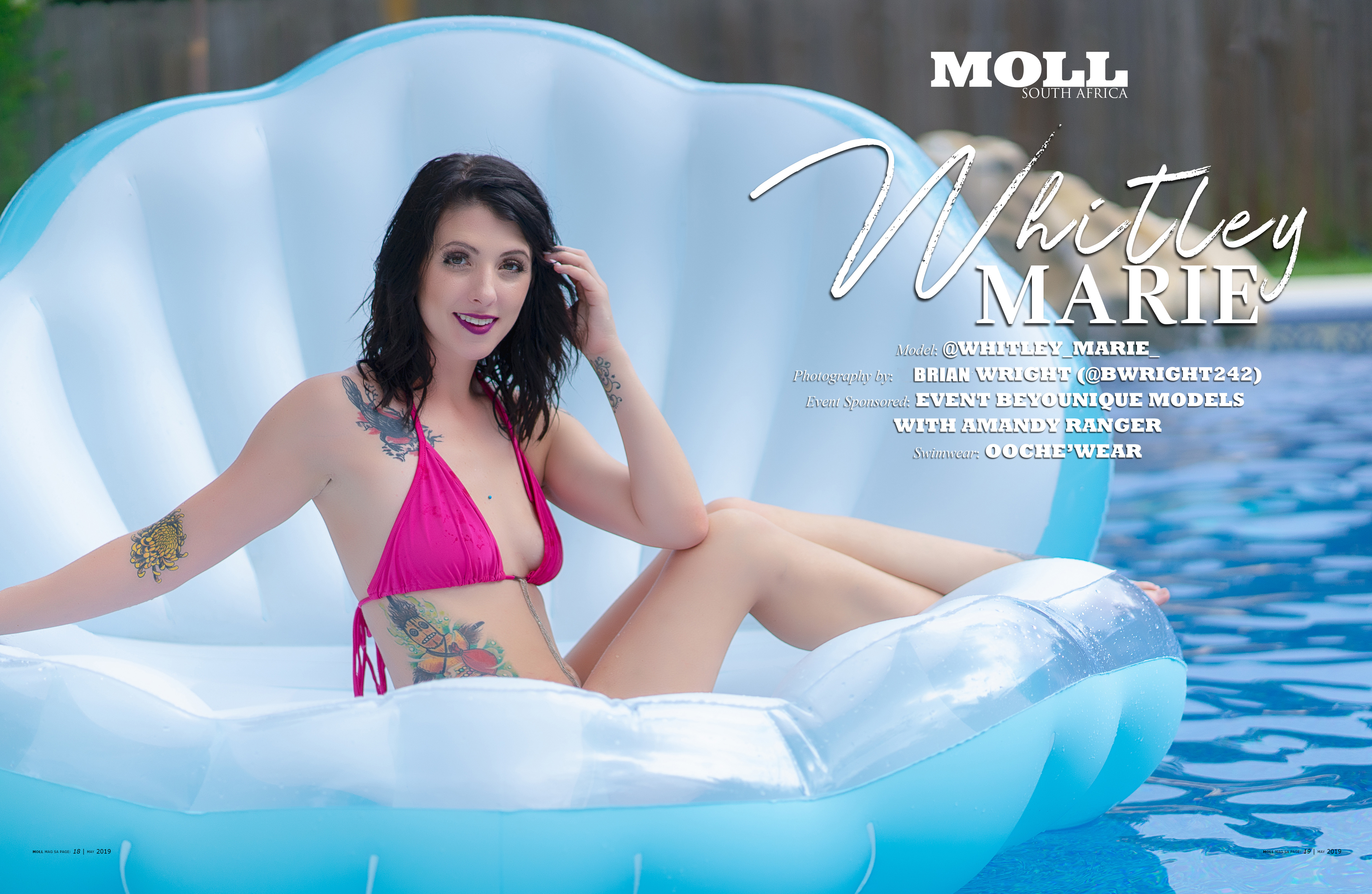 8df7cecae2b52 POOLSIDE BEAUTY SPLASH WITH | WHITLEY MARIE – MOLL Magazine South ...